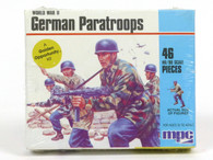 MPC World War II German Paratroops 46 Scale Pieces 1/72 to 1/76 scale