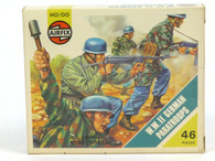 AIRFIX World War II German Paratroops 46 Scale Pieces HO/OO Scale