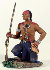 W. Britain Eastern Woodland Indian Kneeling with Hand on Hip (16011)