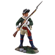 W. Britain Loyalist Butler's Ranger NCO Defending with Musket, 1780-1784 (16026)