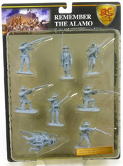 Conte Collectibles Remember the Alamo Plastic Figures Set Seven of Eight