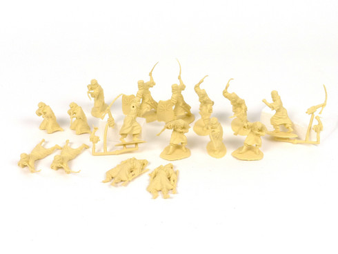Conte Collectibles Desert Arab Warriors Plastic Figures Set One