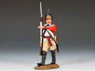 Toy Soldiers American Revolution Marching Officer BR085