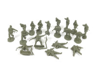 Conte Collectibles Plastic Toy Soldiers WW2 Germans #1 World War Two Series