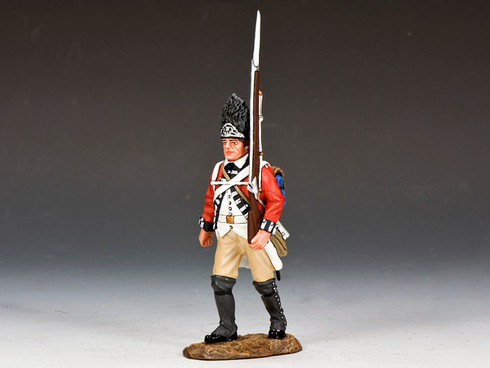 Toy Soldiers American Revolution Marching Fusilier BR065