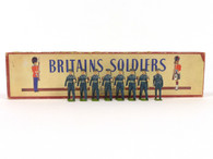 W Britain 2044 United States Air Corps 1949 Pattern Blue Uniform Marching