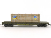 AHM 7301C Great Northern Flat Car with Crates O Scale