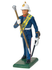 W Britain 43029 Royal Marine Drum Major Toy Soldier