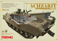 Meng MMSS008 Israel Achzarit Late Heavy Armored Personnel Carrier 1/35 Scale Plastic Model Kit