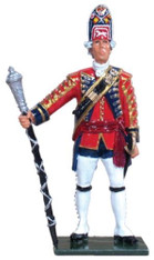 W Britain 47005 British Drum Major 1st Foot Guards 54mm Collectible Toy Soldier