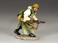 Toy Soldiers World War II Advancing Single Rifleman BRG027