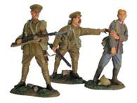 W Britain 17690 WWI German Prisoner Set British 4th Battalion 1/30 Toy Soldiers