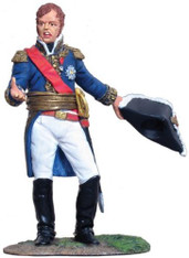 W Britain 36008 Napoleonic French Marshal Ney Waterloo 1815 1/30 Scale Soldier