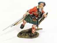 John Jenkins Designs Toy Soldiers Ticonderoga 1758 42nd Regiment of Foot Line Infantry, Advancing #4 TIC-04