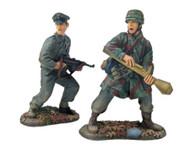 W Britain 17657 German Kampfgruppe 17th Waffen SS 3rd Fallschirmjaeger Division