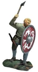 WBritain 62121 Gostav Viking Pushing With Shield Wrath of the Northmen