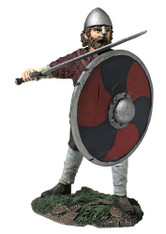 WBritain 62120 Hereward Saxon Pushing With Shield Wrath of the Northmen