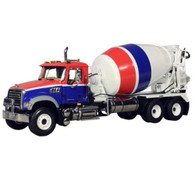 First Gear 10-3995 Mack Granite Standard Mixer 1:34 Scale Diecast Collectible