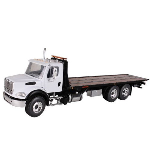 First Gear 10-4020 Freightliner M2 With Rollback Carrier 1:34 Scale Collectible