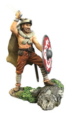 WBritain 62119 Augnarr, Viking Warrior Attacking Wearing Wolfskin No.1 Wrath of the Northmen