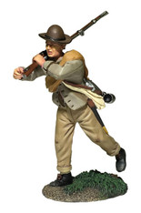 W Britain 31266 Confederate Infantry Advancing, Steadying Musket No.2 American Civil War