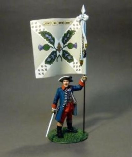 John Jenkins Designs Set 19 Jacobite Rebellion Officer With Colonels Colours