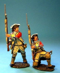 John Jenkins Designs BM-23 Monongahela British Line Infantry At The Ready 1/30 scale
