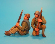 John Jenkins Designs Soldiers REP-01B Spanish Civil War Tank Riders No 1