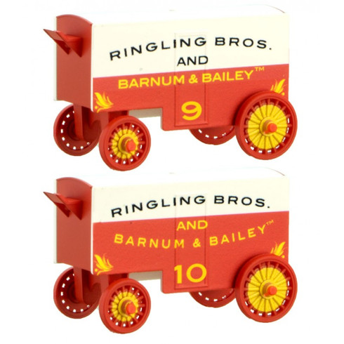 Micro-Trains Ringling Brothers Wagon 2 pack 470 00 249 N Scale Road #9 and 10