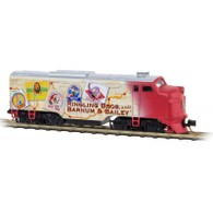 Micro-Trains Ringling Brothers 987 01 681 Powered Diesel Locomotive FT A-Unit N Scale