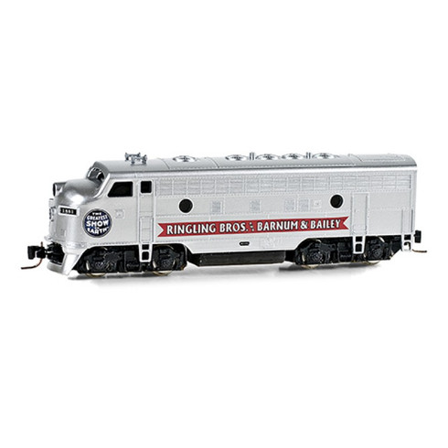 Micro-Trains Ringling Brothers 980 01 525 Powered Diesel Locomotive F7 A N Scale