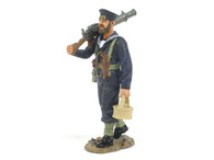 King & Country FOB049 Naval Lewis Gunner with Light Machine Gun World War I The Great War