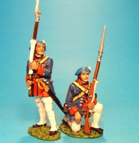 John Jenkins Designs EEC-05 Jacobite Rebellion Line Infantry Firing At The Ready