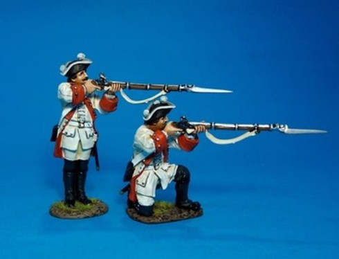 John Jenkins Designs ROT-01 Roth Wurzburg Infantry Regiment Firing Soldiers 1/30