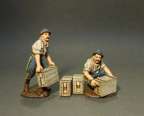 John Jenkins Designs GWF-03B The Great War French Infantry Loading Supplies 1/30