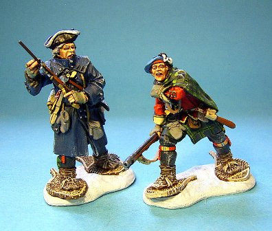 John Jenkins Designs JJCLUB SET5 Ensign Andrew Ross and Captain Pringle Limited edition 1/30 Collectible