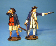 John Jenkins Designs JJCLUB SET10 Lieutenant Spendelowe and Midshipman Haynes Limited edition 1/30 Collectible