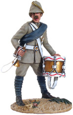 W Britain 27041 British York Lancaster Regiment Drummer No 1 War Along The Nile