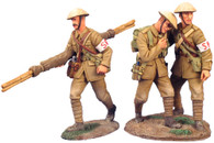 W Britain British Infantry Stretcher Bearer Set No 1 23023 Limited Edition WWI