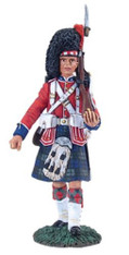 W Britain 10031 Black Watch Private Marching No 1 1/30 Scale Collectible Soldier