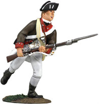 WBritain Soldier 18058  Continental Infantry 1776 - 1777 Charging No. 1