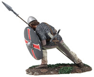 "WBritain Soldier 62111 Wrath of Northmen ""Alwin"" Saxon Shield Wall Defender No.3"