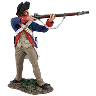 WBritain 16020 Clash of Empires Continental Line/1st American Regiment Standing Firing, 1777-1787