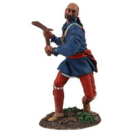 WBritain 16025 Clash of Empires Eastern Woodland Indian Swinging Gunstock Warclub