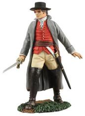 WBritain Soldier 18052 Colonial Colonel William Prescott