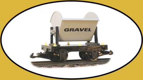 Hartland Locomotive Works 15311 Gravel Ore Car G Gauge