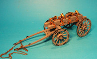 John Jenkins Designs JJCLUB SET14 Battle On The Monongahela 1755 Mortar Wagon Limited edition 1/30 Collectible