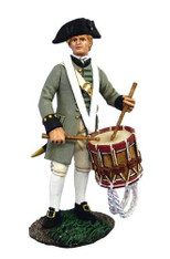 W Britain Soldiers 18050 American Revolution Colonial Militia Drummer No.1