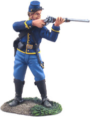 William Britain 31063 American Civil War Union Cavalry Trooper Dismounted Standing Firing No.1