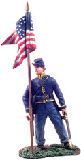 William Britain 31071 American Civil War Union Cavalry Guidon Bearer Dismounted No.1